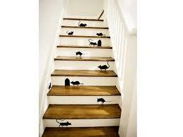 animer la cage d escalier avec des motifs de stickers