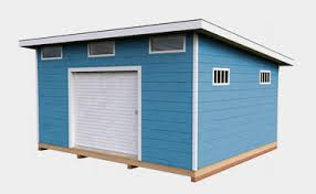 12x16 Slant Roof Shed Plans by 30 Free Storage Shed Plans With Gable Lean To And Hip Roof Styles