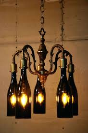 Chandeliers ~ Wine Bottle Chandelier Wine Bottle Chandelier For ... Chandeliers Recycled Glass Beaded Chandelier Blue Wine Barrel Diywine Ring Haing Pendant Light Pottery Barn Bellora Reviews Lighting Lamp Stunning Ding Room For Accsories Deco Outdoor Bottle Ebay Diy Full Image Nautical Rope Glasses Long Beautiful The Island Chandelier Clarissa Glass Drop Extralong