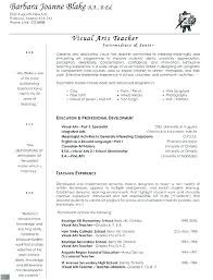 Elementary Teacher Resume Sample Teachers Samples