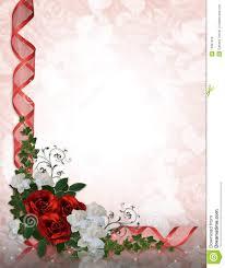 cadre photo mariage gratuit roses de de cadre d invitation de mariage illustration stock