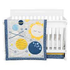 Galaxy 3 Piece Crib Bedding Set Trend Lab