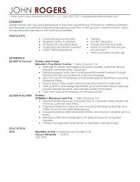 Volunteer Work In Resume Samples Experience Host Hostess Sample Job Examples For Including