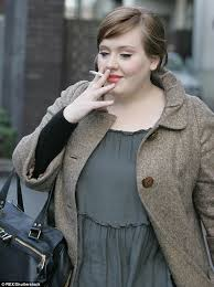 adele complains quitting smoking has left her with weaker vocal