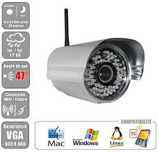 ip filaire exterieur de videosurveillance wifi filaire extérieure