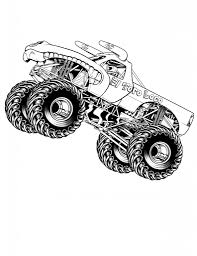 Free Printable Monster Truck Coloring Pages For Kids | Coloring ...