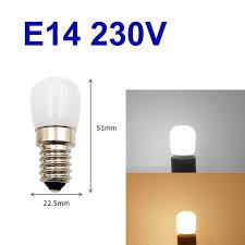 230v 1 5w e14 led light bulb smd2835 for sewing refrigerator