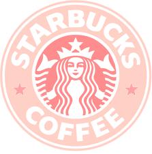 Pink Starbucks Logo Wallpaper