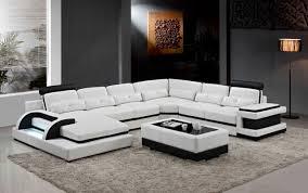 canapé cuir en u grand coin canapé en cuir pour moderne sofa sectionnel canapé en