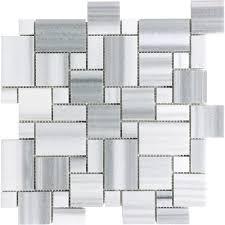 Home Depot Canada Marble Tile by Anatolia Polished Fluid Mini Versailles Mosaics 76 333 Home
