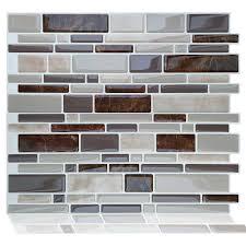 selbstklebende 3d mosaik marmor vinyl badezimmer küche home