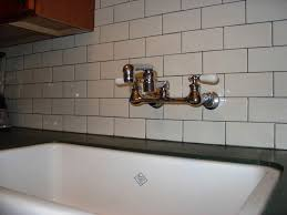 Unlacquered Brass Wall Mount Kitchen Faucet by Faucet Archives U2014 The Homy Design