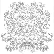 The Secret Garden Johanna Basford Coloring Pages