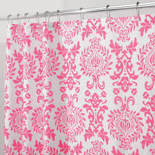 Blue Medallion Curtains Walmart by Mainstays Coral Damask Shower Curtain Walmart Com