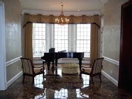 Bay Window Dining Room Astonishing Treatments With Other Pretty For Treatment Windows