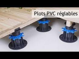 plot reglable pour terrasse bois plots pvc réglables pour terrasse bois et dalle