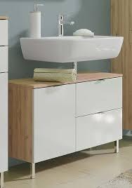 monson badezimmer waschbecken unterschrank grandson eiche weiß günstig möbel küchen büromöbel kaufen froschkönig24