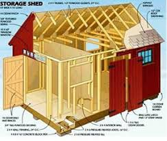 Free Plans How To Build A Wooden Shed by Build A Shed With Our Free Shed Plans