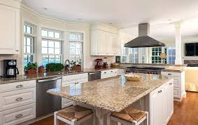 Granite Countertops For White Cabinet Image Of White Granite With