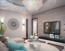 lieblich wohnzimmer grau türkis ideen
