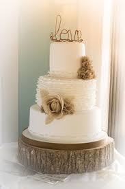 Rustic Chic Wedding Cake Ideas