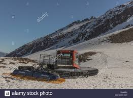 100 Caterpillar Chile Tractor For Clean Snow Parking On The Mountain In The