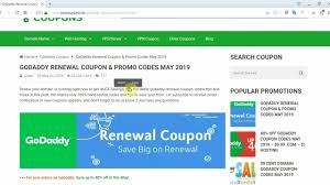 How To Use GoDaddy Promo Code And Godaddy Renewal Code Godaddy Coupon Code Promo 2019 New 1mo Deal Transfer Your Us Domain To For Only 099 Codes Hosting 99 Coupons Renewal Latest Black Friday Cyber Monday Deals Save 75 Buy Domain Name Godaddy Rs125 Flat Off Kevin Derycke Vinmakemoney On Pinterest How Use Updated Promo Code Domahosting By Webber Alex Issuu Get Com Name In Just Rupees Offer April Godaddy