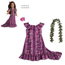 Amazoncom American Girl Naneas Holoku Dress For 18