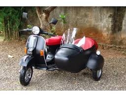 Italian Scooter PX 150cc With Sidecar