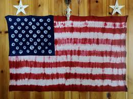 American Flag FREE SHIPPING Tie Dyed Wall Tapestry