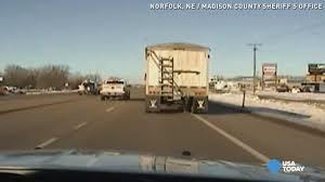 100 Truck Jumps Deputy Jumps Into Moving Truck To Save Driver