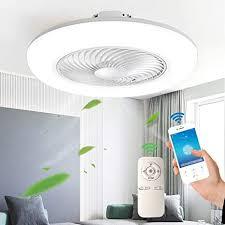 deckenventilator mit beleuchtung moderne led fan deckenleuchte einstellbare windgeschwindigkeit dimmbar mit fernbedienung 48w timing leise