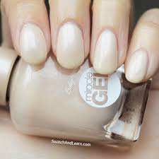 Sally Hansen Led Lamp Walmart by Sally Hansen Miracle Gel Cream Of The Crop Swatches U0026 Review