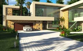 104 Modern Architectural Home Designs 4 Bedroom House Plan Contemporary House Design Archid
