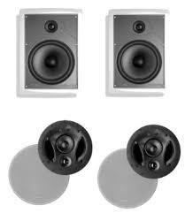 Polk Ceiling Speakers Mc80 by Buy Polk Audio 265 Rt 3 Way In Wall Speaker Pair Plus A Polk
