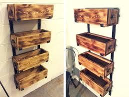 Diy Pallet Shelves Made From Pallets Home Design 23