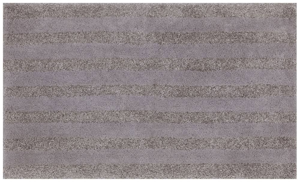 Mohawk Basic Stripe Bath Rug Cloud Burst