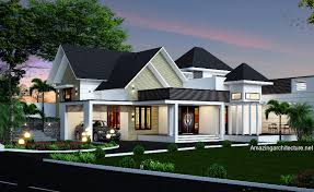 Images House Plans With Hip Roof Styles by Modern Deco Home Visualized In Two Styles Amazing