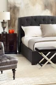 Black Leather Headboard With Crystals by Nelly Bedroom By Esf With Black Tufted Leather Headboard Bed