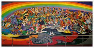 Denver International Airport Murals Painted Over by Creepiest Airport In The World Denver International Airport