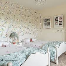 Shabby Chic Dresser Target Elegant Girls Twin Bedroom With Bird Wallpaper