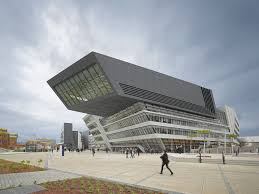 Njit Parking Deck Collapse by Another Big Concrete Panel Falls Off Zaha Hadid Designed Library