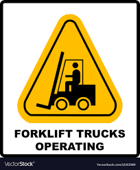 100 Truck Sign Forklift Truck Sign Symbol Of Threat Alert Vector Image