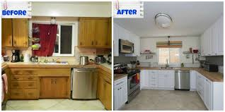 Image Of Before And After Small U Shaped Kitchen Layouts