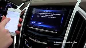 How to Pair an iPhone with the Cadillac CUE by Bluetooth