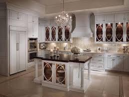 ceramic tile countertops antique white kitchen cabinets lighting