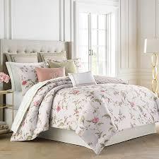 Lush Decor Belle 4 Piece Comforter Set by Garden Images Iii Magnolia Floral Comforter Bedding Floral