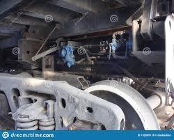 100 Parts Of A Truck Railroad Dump Wheels Springs Oil Pipe Black