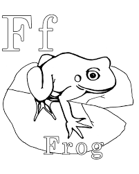 Color The Frog