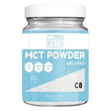 Kiss My Keto MCT Powder 15 Pound Ketogenic Coffee Creamer 0 Carbs